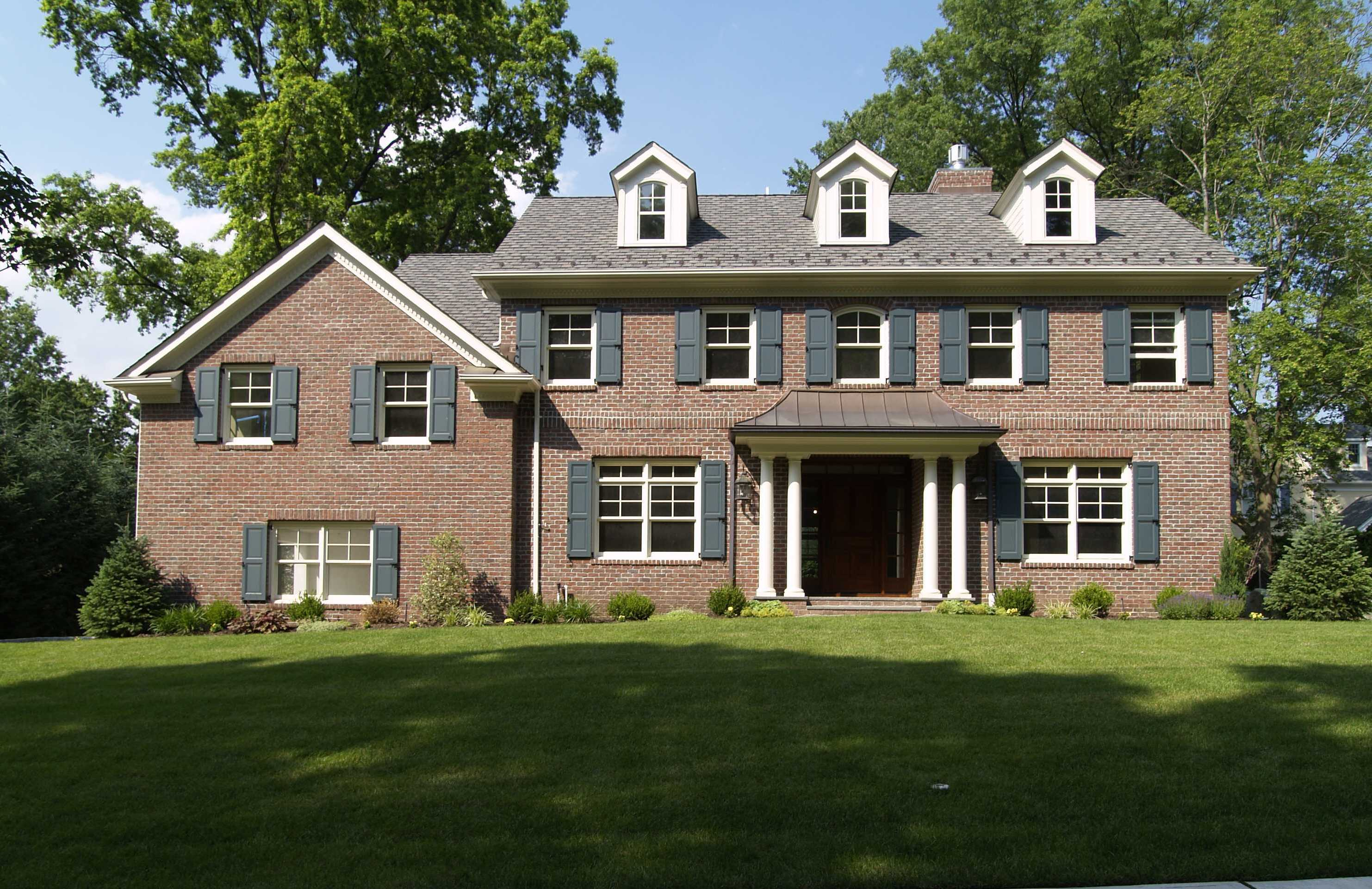 The Bergen County Homes Blogbrick Colonial Archives The